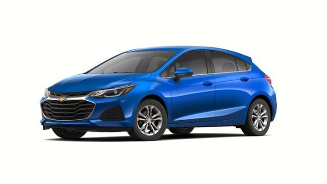 blue 2019 chevy cruze