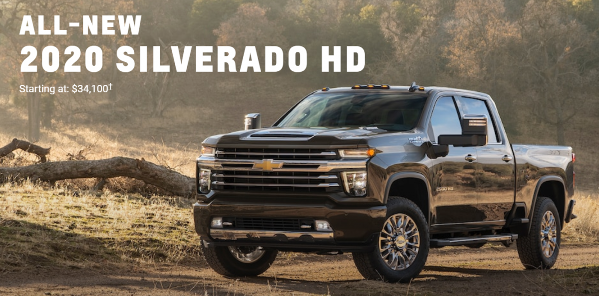 2020 Chevy Silverado HD - Coming Soon