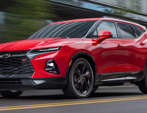 The 2019 Blazer: A Camaro-Like Crossover
