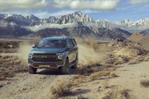 off road 2021 Chevrolet Tahoe