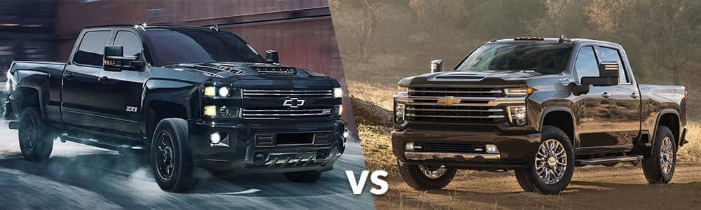 2021 chevy silverado vs 2020