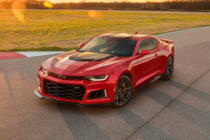 2021 chevy camaro zl1 in red