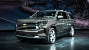 2021 Chevy Suburban is the  Fastest-Selling Model