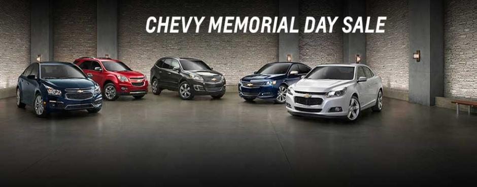 Used Chevy Memorial Day Specials